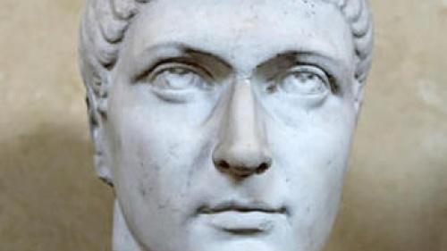 Buste de Constantin au musée du Vatican.