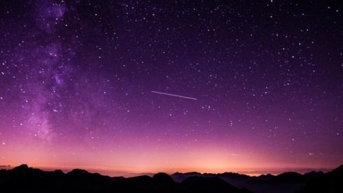 Un ciel nocturne