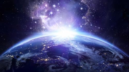 Le monde et l'espace