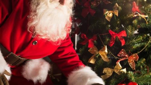 Une photo du père Noël
