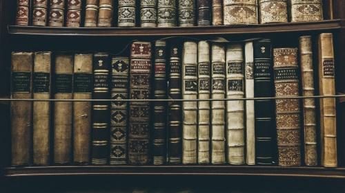 Des anciens livres