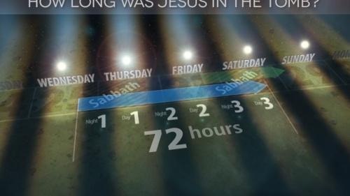 La durée du séjour de Jésus dans le sépulcre prouve qu'Il était le Messie
