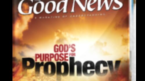 Good News Magazine - couverture de septembre / octobre 2013