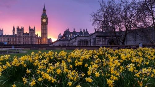 La grande cloche Big Ben à Londres