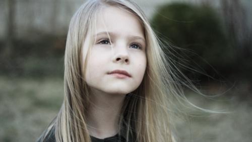 La prière d'une enfant