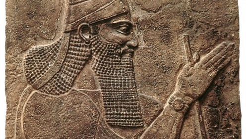 Portrait du monarque assyrien Tiglath Pileser