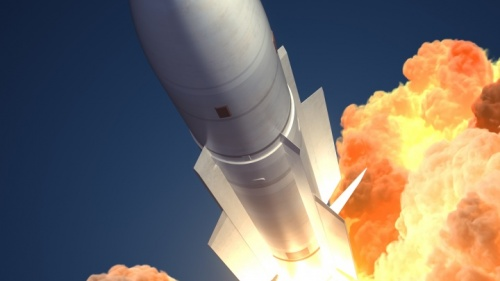Un lancement de missile