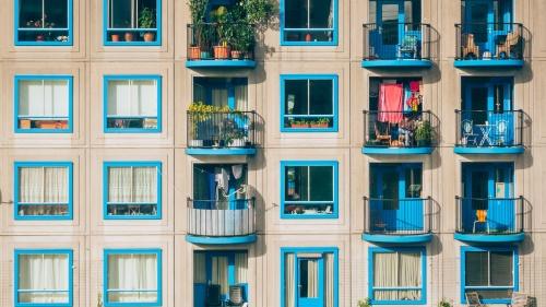 Des apartements colorés