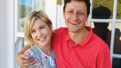 Cathy et son mari Vivien Botha