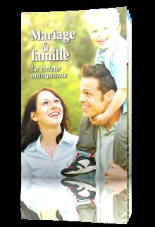 Mariage et famille : la valeur manquante