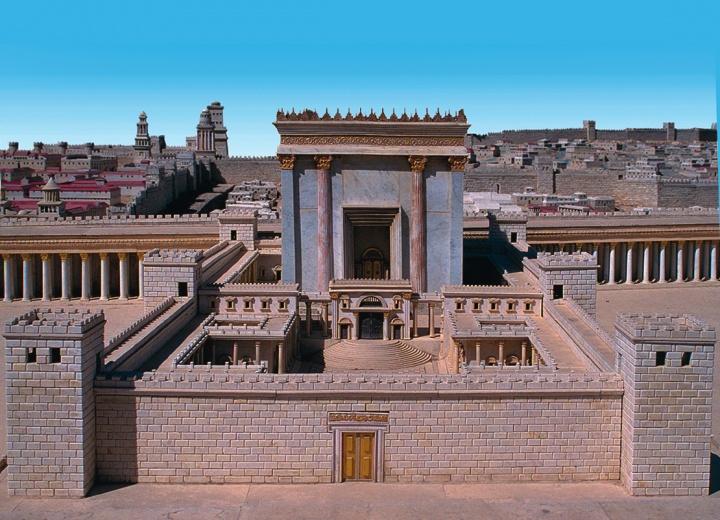 Le déchirement du voile du Temple