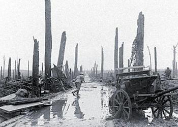 vieille photo de la première guerre mondiale