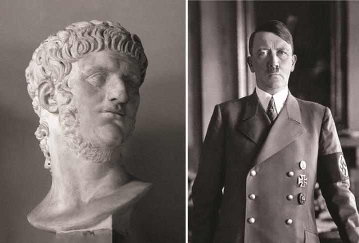 Une photo de Hitler et de Néron