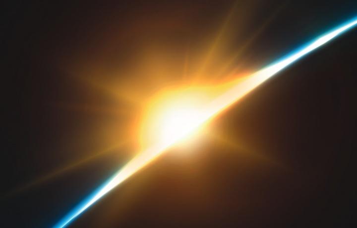 Une lumière sur l'horizon